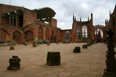 Catedral de Coventry Imágenes de archivo libres de regalías