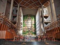 Catedral de Coventry en Coventry Imagen de archivo libre de regalías