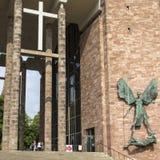 Catedral de Coventry en el Reino Unido fotografía de archivo libre de regalías