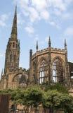 Catedral de Coventry en el Reino Unido foto de archivo