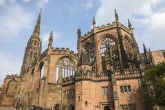 Catedral de Coventry en Inglaterra imágenes de archivo libres de regalías