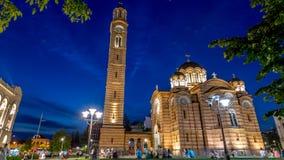 Catedral de Cristo el salvador, Banja Luka Imagen de archivo libre de regalías