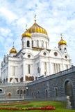 Catedral de Cristo el salvador en Moscú imagen de archivo libre de regalías