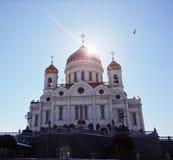 Catedral de Cristo el salvador, Moscú Fotos de archivo libres de regalías