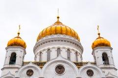 Catedral de Cristo que o ` s do salvador abobada imagens de stock