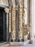 Catedral de Croacia Trogir Fotos de archivo
