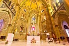 Catedral de Curitiba, el Brasil Imagen de archivo libre de regalías
