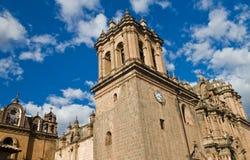 Catedral de Cusco Imágenes de archivo libres de regalías