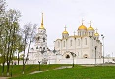 Catedral de Dormition em Vladimir, Rússia Fotografia de Stock