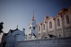 Catedral de Dormition en Vladimir Fotos de archivo libres de regalías