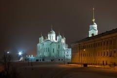 A catedral de Dormition. Vladimir. Rússia imagens de stock royalty free