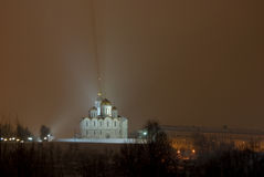 A catedral de Dormition. Vladimir. Rússia Imagem de Stock Royalty Free