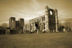 Catedral de Elgin en Escocia imágenes de archivo libres de regalías