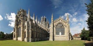 Catedral de Ely, Inglaterra Imagen de archivo libre de regalías