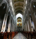 catedral de en för almudena la madrid Arkivbilder