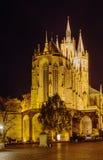 Catedral de Erfurt, Alemanha Imagem de Stock