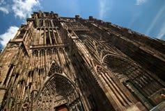 Catedral de Estrasburgo fotografía de archivo