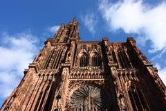 Catedral de Estrasburgo Imagen de archivo libre de regalías
