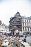 Catedral de Estrasburgo, Alsacia, Francia fotos de archivo libres de regalías
