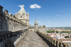 Catedral de Evora imagenes de archivo