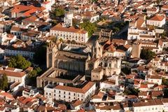 Catedral de Evora, Portugal imagen de archivo libre de regalías