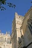 Catedral de Exeter Imagen de archivo libre de regalías
