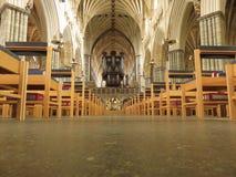 Catedral de Exeter Imágenes de archivo libres de regalías