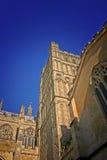 Catedral de Exeter en verano Imagen de archivo