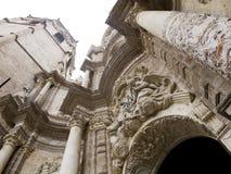 catedral De Fachada Fotografia Royalty Free