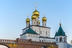 Catedral de Feodorovsky en St Petersburg Imagen de archivo libre de regalías