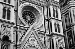Catedral -1a de Florencia Fotografía de archivo libre de regalías