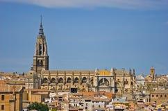 catedral de fördärvar primadaen santa toledo Arkivbilder