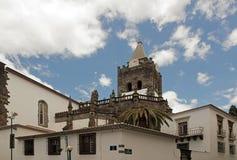 Catedral de Funchal Foto de archivo libre de regalías