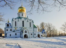 A catedral de Fyodorovsky Foto de Stock Royalty Free