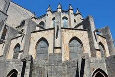 Catedral de Gerona Imagenes de archivo