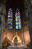 Catedral de Ghotic en Viena Foto de archivo