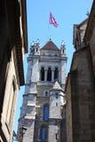 Catedral de Ginebra Imagen de archivo