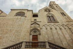 Catedral de Giovinazzo foto de stock royalty free