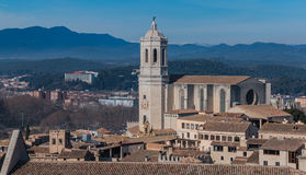 Catedral de Girona IV Stock Images