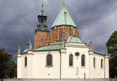 Catedral de Gniezno en Polonia Imagen de archivo