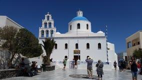 Catedral de Grécia Fotos de Stock Royalty Free