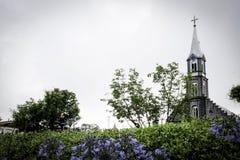 A catedral de Gramado fotos de stock