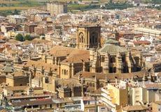 A catedral de Granada Imagens de Stock