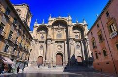 Catedral de granada Imagens de Stock Royalty Free