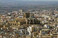 45 - catedral de granada Imagem de Stock Royalty Free