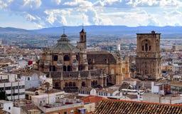 Catedral de Granada, Espanha Fotos de Stock