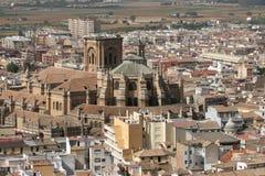 Catedral de Granada Spain Foto de Stock Royalty Free