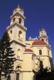 Catedral de Grecia Crete Heraklión fotografía de archivo libre de regalías