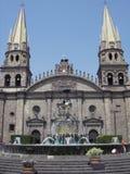 Catedral de Guadalajara imagens de stock