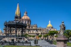 Catedral de Guadalajara - Guadalajara, Jalisco, México imagens de stock